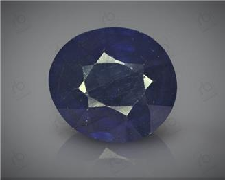 Natural Heated & Treated Blue Sapphire Certified 6.27 CTS ( 16811 )