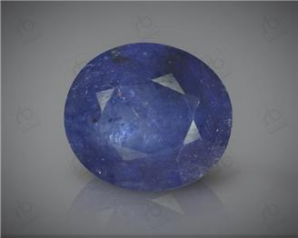 Natural Heated & Treated Blue Sapphire Certified 5.43 CTS ( 16814 )