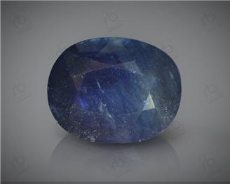 Natural Heated & Treated Blue Sapphire Certified 7.4 CTS ( 16823 )