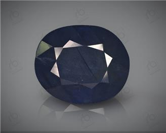 Natural Heated & Treated Blue Sapphire Certified 8.67 CTS ( 16827 )
