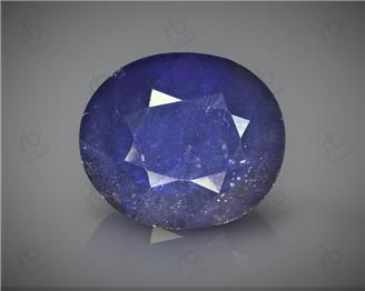Natural Heated & Treated Blue Sapphire Certified 8.41CTS-16886