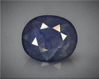 Natural Heated & Treated Blue Sapphire Certified 11.95CTS-16901