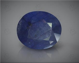 Natural Heated & Treated Blue Sapphire Certified 6.74CTS-16909