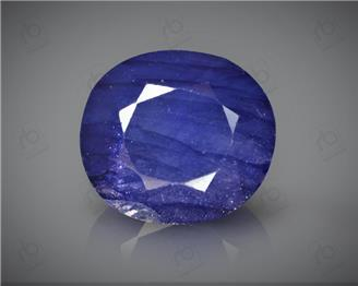 Natural Heated & Treated Blue Sapphire Certified 6.56CTS-16917