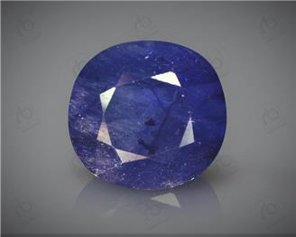 Natural Heated & Treated Blue Sapphire Certified 6.37CTS-16920