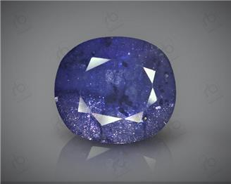 Natural Heated & Treated Blue Sapphire Certified 8.17CTS-16923