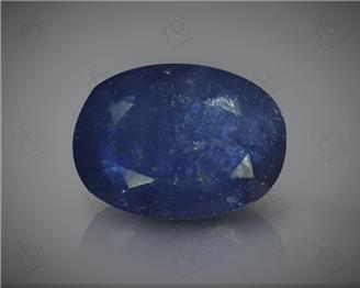 Natural Heated & Treated Blue Sapphire Certified 7.45CTS-16927