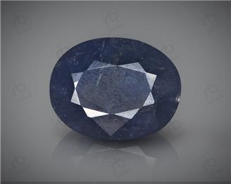 Natural Heated & Treated Blue Sapphire Certified 9CTS-16930