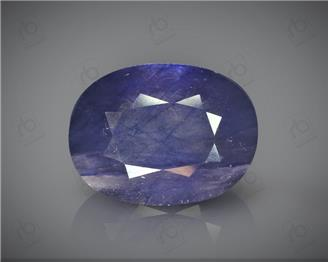 Natural Heated & Treated Blue Sapphire Certified 8.94CTS-16939