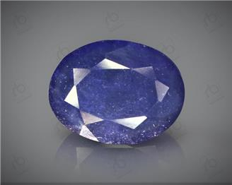 Natural Heated & Treated Blue Sapphire Certified 3.39CTS-16945