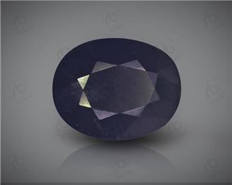 Natural Heated & Treated Blue Sapphire Certified 7.34 CTS ( 16834 )