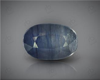 Natural Heated & Treated Blue Sapphire Certified 7.18 CTS ( 16843 )