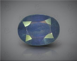 Natural Heated & Treated Blue Sapphire Certified 7.21 CTS ( 16860 )
