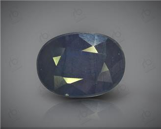 Natural Heated & Treated Blue Sapphire Certified 7.58 CTS ( 16861 )