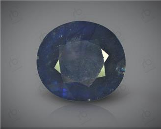 Natural Heated & Treated Blue Sapphire Certified 6.21 CTS ( 16862 )