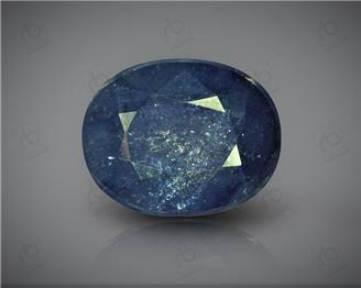 Natural Heated & Treated Blue Sapphire Certified 7.6 CTS ( 16869 )