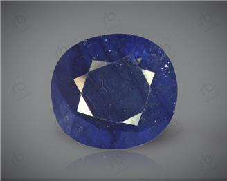 Natural Heated & Treated Blue Sapphire Certified 6.58 CTS ( 16871 )