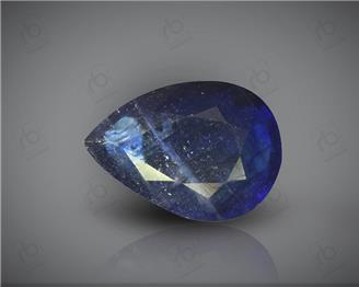 Natural Heated & Treated Blue Sapphire Certified 3.65 CTS ( 16879 )