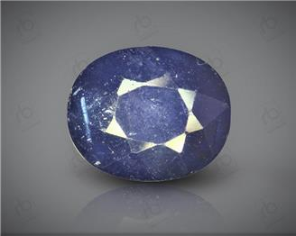 Natural Heated & Treated Blue Sapphire Certified 9.95CTS-16882