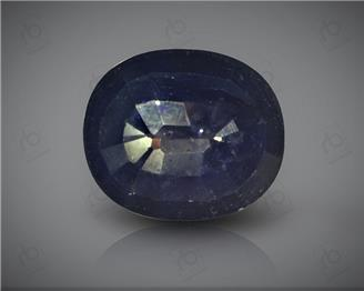 Natural Heated & Treated Blue Sapphire Certified 6.7CTS-17034