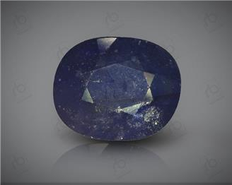 Natural Heated & Treated Blue Sapphire Certified 8.12CTS-17113