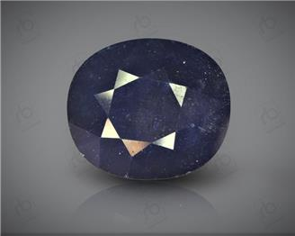 Natural Heated & Treated Blue Sapphire Certified 11.11CTS-17118
