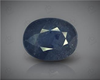Natural Heated & Treated Blue Sapphire Certified 5.23 carats -88337