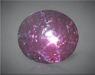 Star Ruby Natural Certified 7.68 CTS ( 2491 )