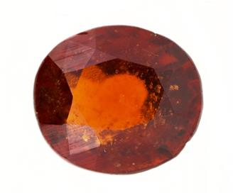 NATURAL HESSONITE GARNET (GOMED) 5.01 Cts (320)