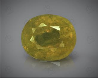 Natural Heated and Treated Yellow Sapphire Certified 4.2 carats -1689