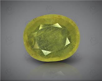 Natural Heated and Treated Yellow Sapphire Certified 4.84 (CTS) ( 71711 )
