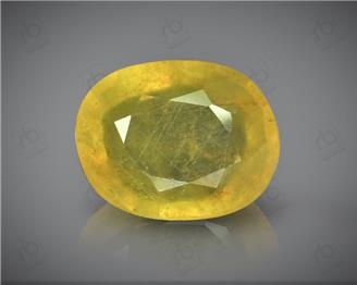 Natural Heated and Treated Yellow Sapphire Certified  4.69 carats -1716