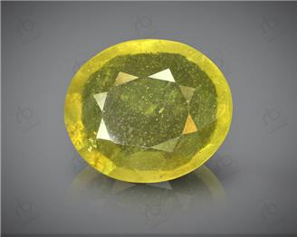 Natural Heated & Treated Yellow Sapphire Certified  4.27 (CTS) ( 71867 )