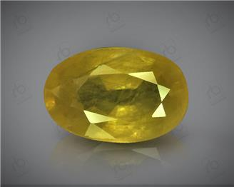 Natural Heated & Treated Yellow Sapphire Certified  3.08 CTS (367)
