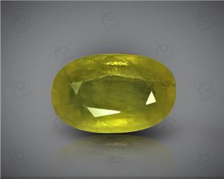 Natural Heated & Treated Yellow Sapphire Certified 2.80 CTS (DIN 86187 )