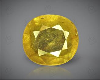 Natural Heated & Treated Yellow Sapphire Certified 6.25 (CTS) ( 88612 )