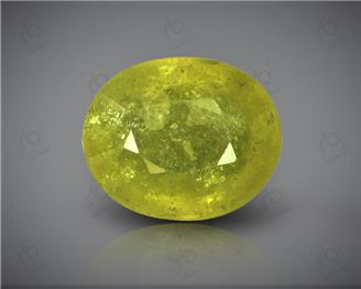 Natural Heated & Treated Yellow Sapphire Certified 4.67 (CTS) ( 88614 )