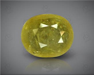 Natural Heated & Treated Yellow Sapphire Certified 6.69 (CTS) ( 88625 ) (D)