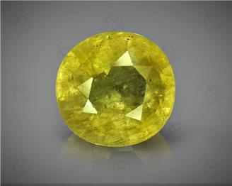 Natural Heated & Treated Yellow Sapphire Certified 4.46 (CTS) ( 88630 ) (D)