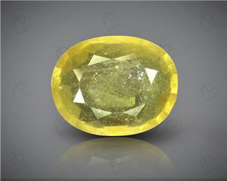 Natural Heated & Treated Yellow Sapphire Certified 4.55 (CTS) ( 71771 ) (D)
