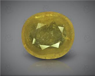 Natural Heated & Treated Yellow Sapphire Certified  5.78 (CTS) ( 71776 )