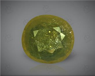 Natural Heated & Treated Yellow Sapphire Certified 4.51 (CTS) ( 71866 )