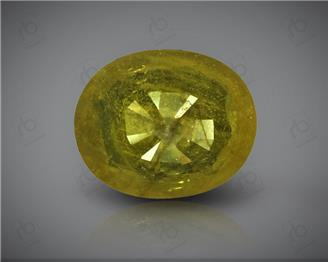 Natural Heated & Treated Yellow Sapphire Certified 3.81 (CTS) ( 71868 )