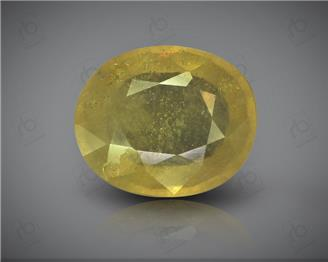 Natural Heated & Treated Yellow Sapphire Certified  4.62 (CTS) ( 62891 )