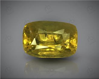 Natural Heated & Treated Yellow Sapphire Certified 3.11 cts. ( 84985 )