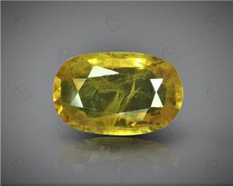 Natural Heated & Treated Yellow Sapphire Certified 5.04 (CTS) ( 85569 ) (D)
