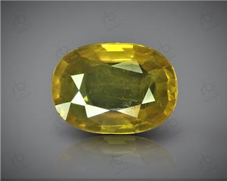 Natural Heated & Treated Yellow Sapphire Certified 4.60 (CTS) ( 85580 ) (D)