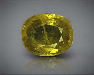 Natural Heated & Treated Yellow Sapphire Certified 5.45 (CTS) ( 85591 )