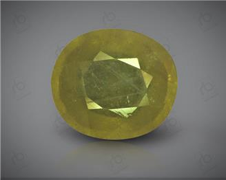 Natural Heated & Treated Yellow Sapphire Certified 8.65 carats -96548