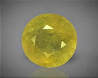 Natural Heated & Treated Yellow Sapphire Certified 8.84 carats -96574
